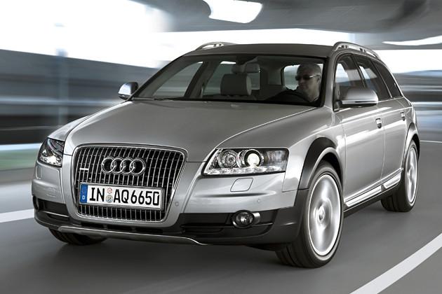 Den Audi A6 gibt es auch mit einem automatischen Bremssystem - gegen Aufpreis
