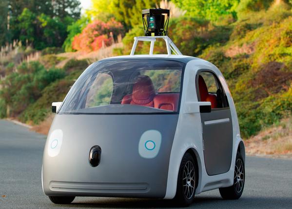 Das selbstfahrende Google-Auto hat nicht einmal ein Lenkrad