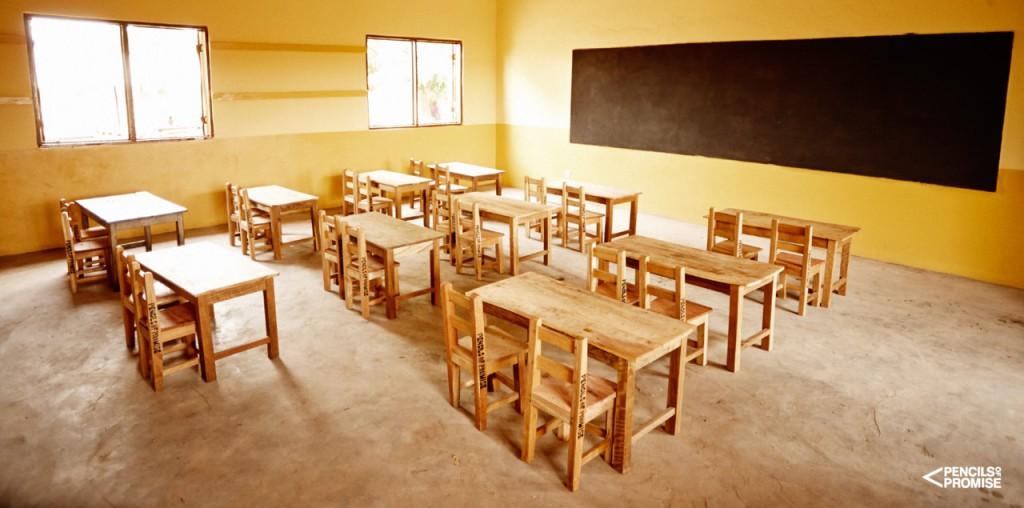 """Eine Schule von """"Pencil of Promise"""" in Ghana"""