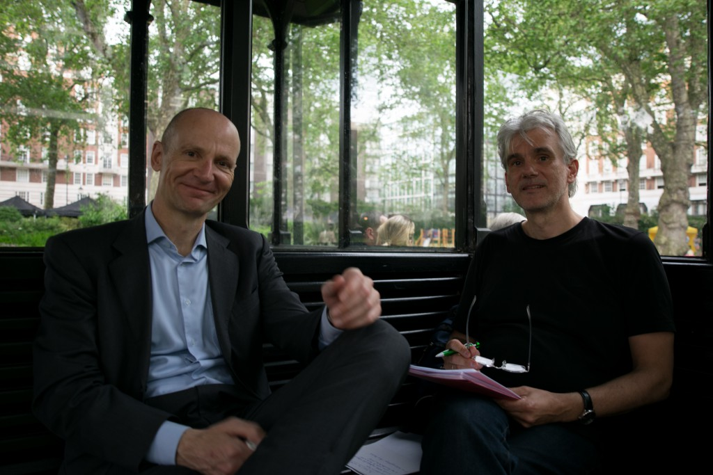 Interview mit Gerd Kommer in London